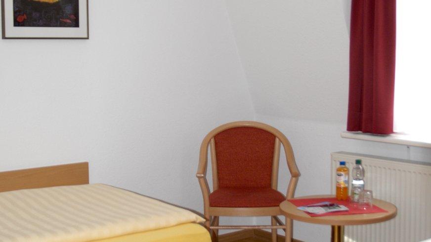 Standardzimmer im Bunten Haus Bielefeld