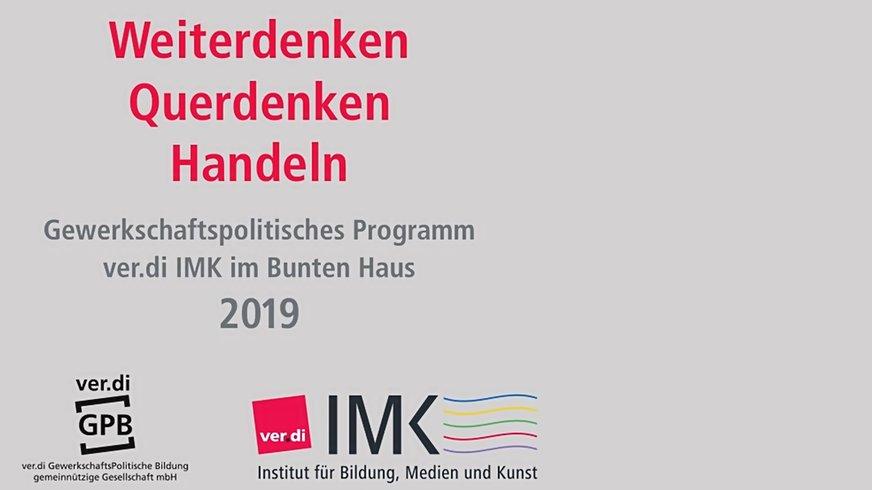 IMK Programm Cover 2019 (Bühne)